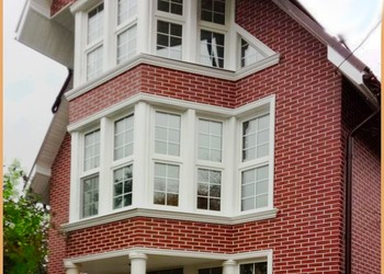 Дом облицованный термопанелями 43